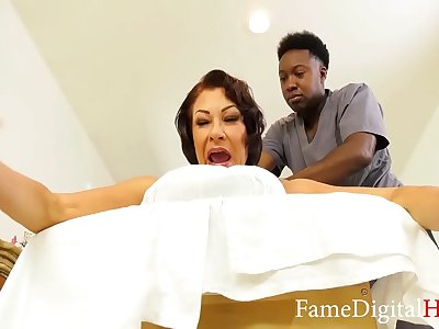 BBC Massage for Mature Women- Venessa Videl