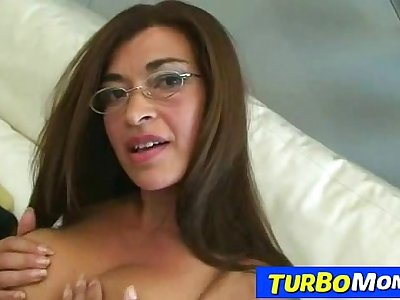 Hottest latina lady Ale sex with a lucky guy