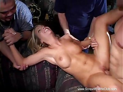 Blonde Housewife Swinger New Adventure