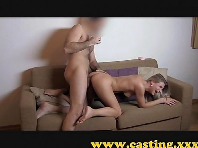 Casting - Fit girl loves the cock