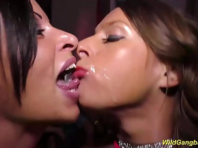 brutal german milf anal party orgy