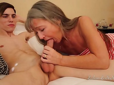 Milf Shocked by What Young Man Watching